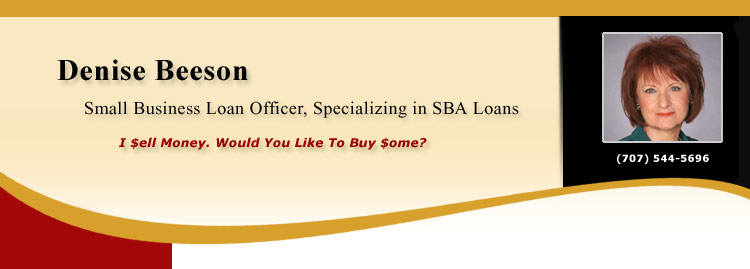 Denise Beeson, Small Business Loan Officer, Specializing in SBA Loans